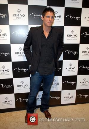 Robbie Amell attends the grand opening Kim Vo Salon at the Mirage  Las Vegas, Nevada - 07.03.08