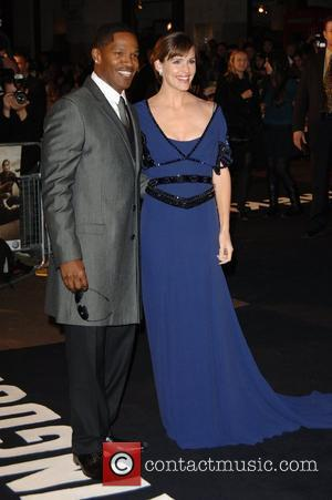 Jennifer Garner, Odeon West End, Jamie Foxx
