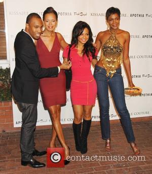 Aj Crimson, Christina Milian and Keisha Whitaker