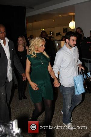 Aguilera Hits The Town Without Her Underwear