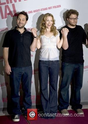 Paul Rudd, Leslie Mann and Seth Rogen