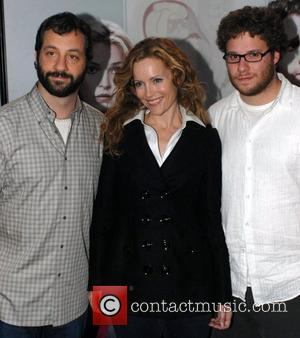 Judd Apatow, Leslie Mann and Seth Rogen