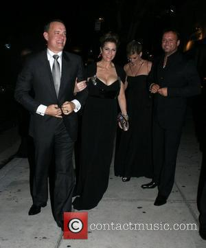 Tom Hanks, Tim Mcgraw, Faith Hill and Koi Restaurant
