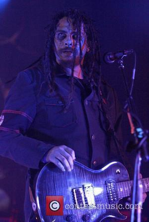 Korn perform on the 'Bitch! We Have A Problem Tour 2008' at the Wolverhampton Civic Hall  Wolverhampton, England -...
