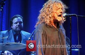 Robert Plant performing in concert at the Wembley Arena London, England - 22.05.08