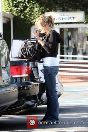 Actress Kristin Cavallari shopping at Neal George Salon and Fred Segal Los Angeles, California - 25.03.08