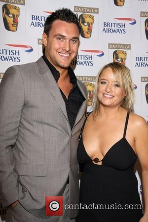 Owain Yeoman and Lucy Davis BAFTA/LA's British Comedy Awards held at the Four Seasons Hotel - Arrivals  Los Angeles,...
