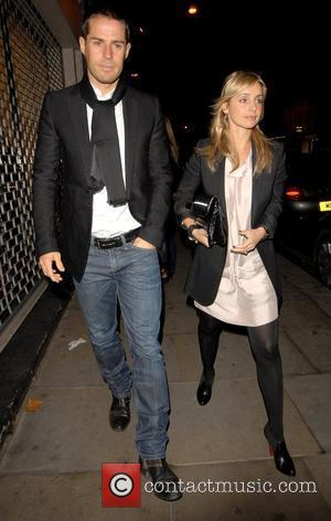 Jamie Redknapp and Louise Redknapp  Re-launch party of La Brasserie London, England - 13.11.07