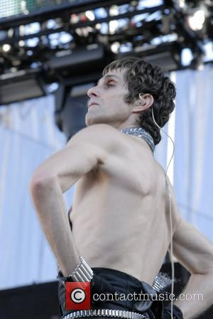 Perry Farrell  from the band Satellite Party performing live at the KROQ LA Invasion at the Home Depot Centre...