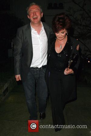 Louis Walsh and Sharon Osbourne