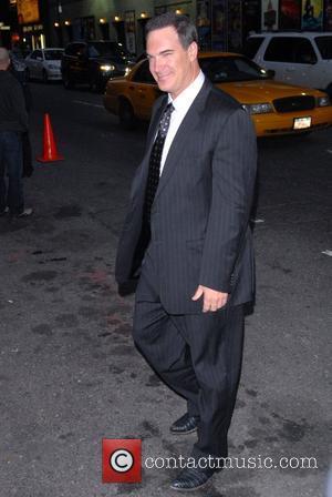 Patrick Warburton and David Letterman