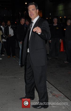 Patrick Warburton outside the Ed Sullivan Theatre for the 'Late Show With David Letterman' New York City, USA - 15.10.07