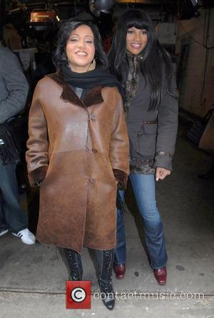 Salt-N-Pepa arriving at ABC Studios before appearing on 'Live with Regis and Kelly' New York City, USA - 12.02.08