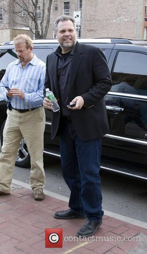 Vincent D'Onofrio Filming a segment for 'Law and Order - Criminal Intent' in the West Village. New York City, USA...