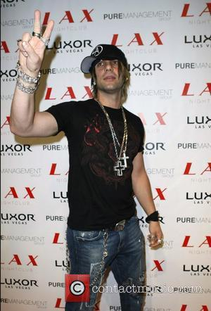 Criss Angel at LAX Nightclub inside the Luxor Hotel and Casino Los Angeles, California - 03.11.07