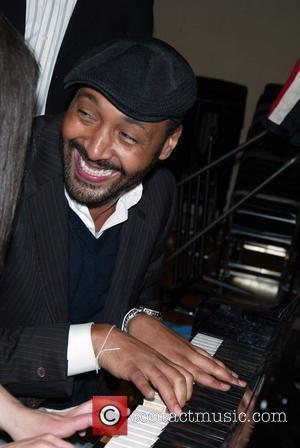 Jesse L. Martin  attending 'Lean On Me' the 6th Annual Our Time Theatre Gala at the Skirball Center for...