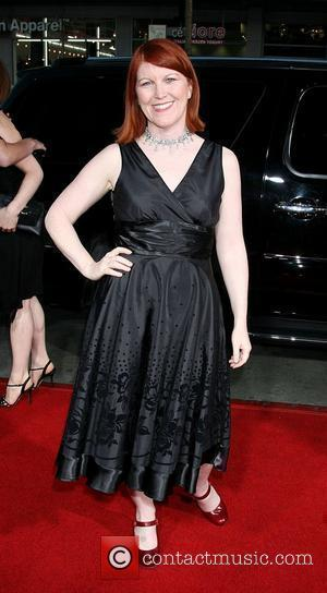 Kate Flannery Attending the 'Leatherheads' Premiere held at the Grauman's Chinese theatre - Arrivals Los Angeles, California - 31.03.08