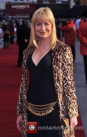Sian Lloyd  UK premiere of 'Leatherheads' held at the Odeon Leicester Square - Arrivals London, England - 08.04.08
