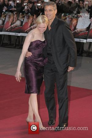 Renee Zellweger, George Clooney, Odeon Leicester Square