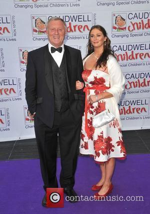 Chris Tarrant and Guest Caudwell Children Present The Legends Ball at the Battersea Evolution - Arrivals London, England - 08.05.08