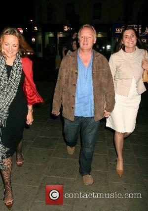 Les Dennis enjoying an evening out in Soho London, England - 07.06.07