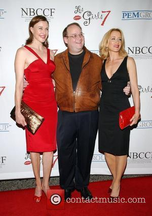 Brenda Strong, Marc Cherry and Felicity Huffman