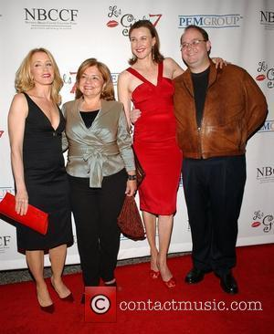 Felicity Huffman, Guest, Brenda Strong and Marc Cherry