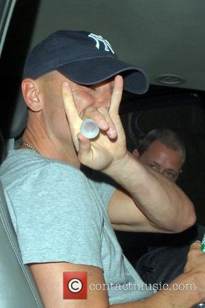 Kenny Chesney outside Ed Sullivan Theatre for the 'Late Show With David Letterman' New York City, USA - 30.08.07
