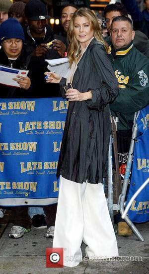 Ellen Pompeo and David Letterman