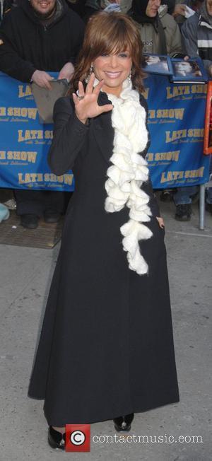 Paula Abdul and David Letterman