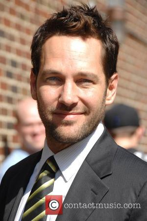 Paul Rudd arrives at the Ed Sullivan Theater to appear on 'The Late Show with David Letterman' New York City,...