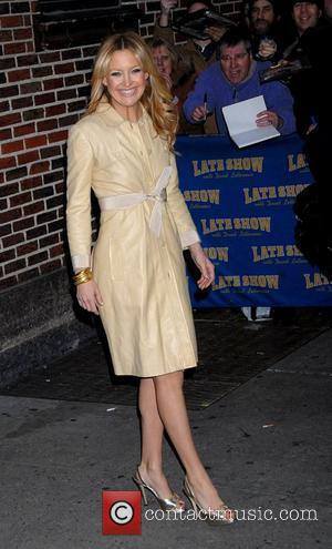 Kate Hudson, David Letterman, Ed Sullivan Theatre
