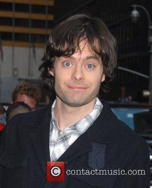 Bill Hader outside the Ed Sullivan Theatre for the 'Late Show With David Letterman' New York City, USA - 14.04.08