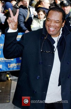 John Witherspoon, David Letterman and Ed Sullivan Theatre
