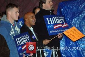 Hillary Clinton Supporters, David Letterman and Hillary Clinton