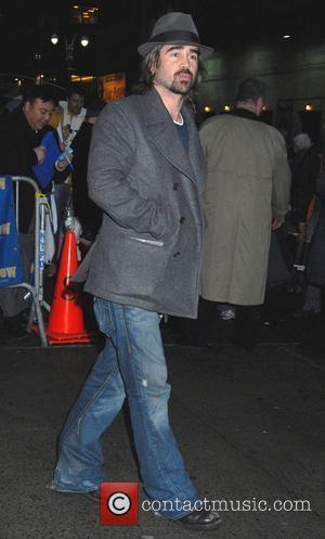 Colin Farrell and David Letterman