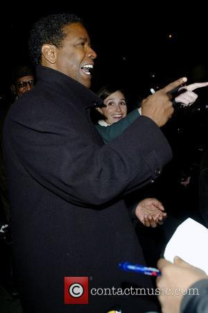 Denzel Washington and David Letterman