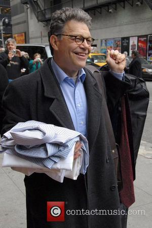 Al Franken, David Letterman and Ed Sullivan Theatre