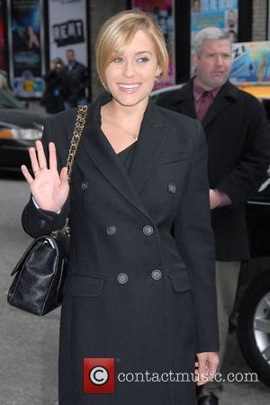 Lauren Conrad, David Letterman and Ed Sullivan Theatre