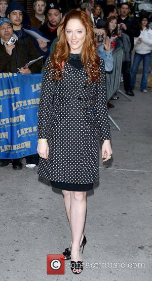 Judy Greer, David Letterman and Ed Sullivan Theatre