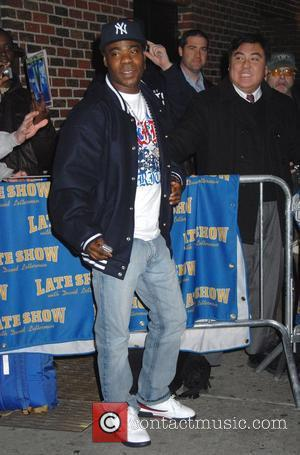 Tracy Morgan and David Letterman