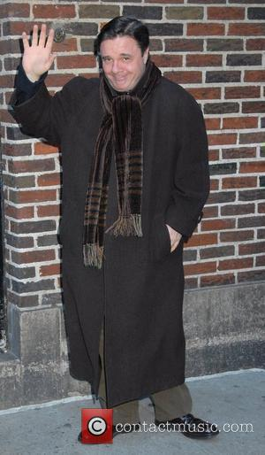 Nathan Lane outside Ed Sullivan Theatre for the 'Late Show With David Letterman' New York City, USA - 21.01.08