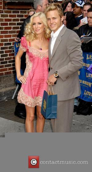 Spencer Pratt and David Letterman