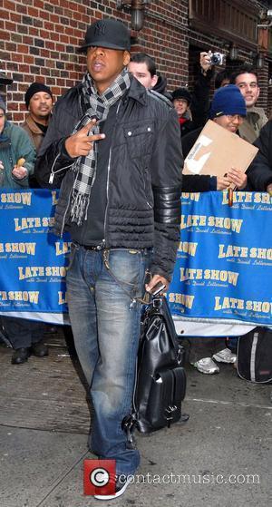 Jay Z and David Letterman