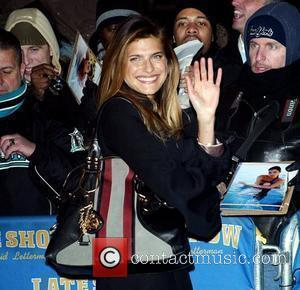 Lake Bell and David Letterman