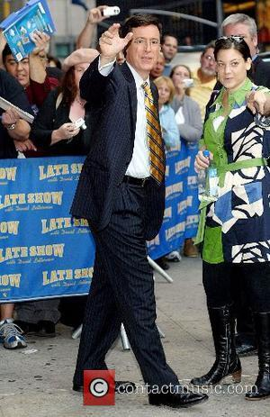 Stephen Colbert outside Ed Sullivan Theatre for the 'Late Show With David Letterman' New York City, USA - 10.10.07