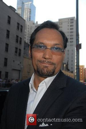 Jimmy Smits and David Letterman