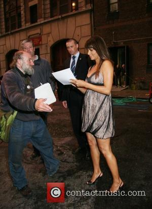 Halle Berry and David Letterman