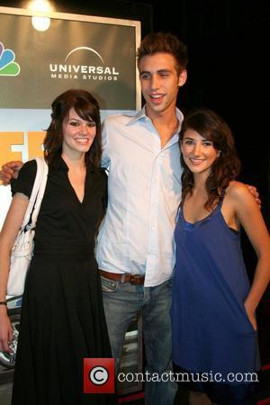 Rachel Melvin, Blake Berris, and Guest,  NBC'S