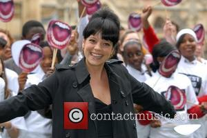 Lily Allen 'Make Space Youth Review' photocall at Parliament Square. Lily Allen joins former MP Oona King to launch review...